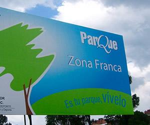 parque zona franca