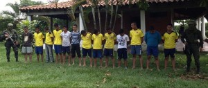 CAUCA- CAPTURAS FARC