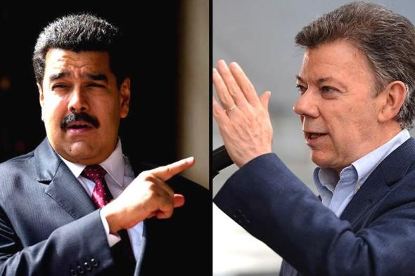 """Nicolás Maduro: """"No quiero pelear con el presidente Santos"""""""